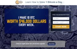 1 Bitcoin a Day official website