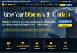 Rainhash website