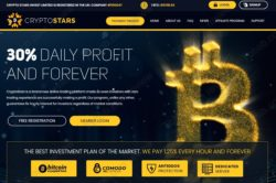 Crypto Stars official website