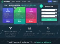 Fx Master Bot official web