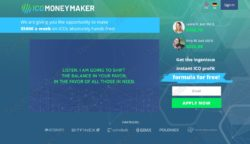 ICO Money Maker official web
