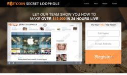 Bitcoin Secret Loophole official web
