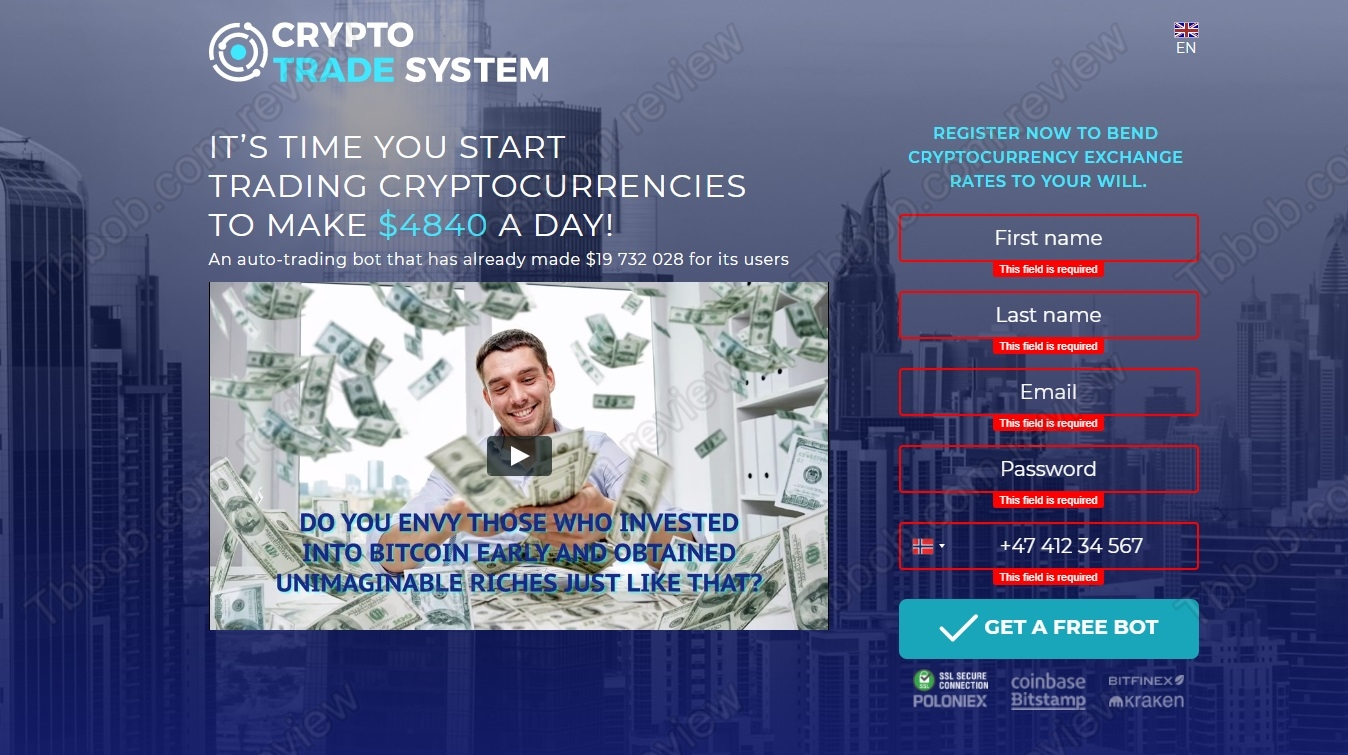 Crypto trading system review