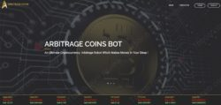 Arbitrage Coins official web