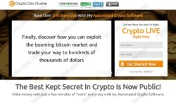 Crypto Coin Crusher official web