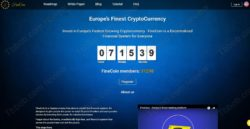 FineCoin official website