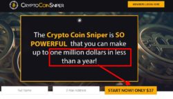 CryptoCoinSniper official web