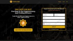 Pro Bitcoin Bot official web