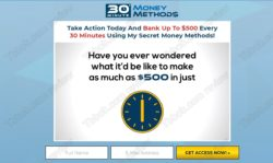 30 Minute Money Methods official web