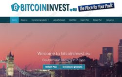 Bitcoin Invest website