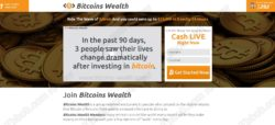 Bitcoins Wealth official website