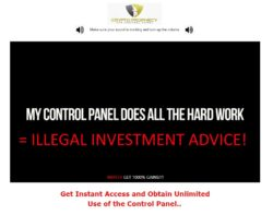 Illegal investment advice
