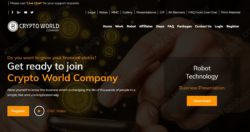 Crypto World Company official website