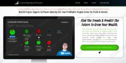 CryptoSignals.software website
