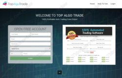 Top Algo Trade web