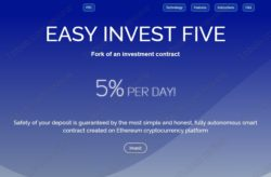 Easy Invest Five website