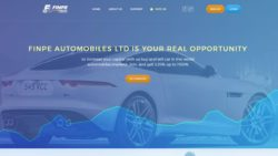 Finpe Automobiles website
