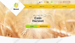 Coin Harvest website