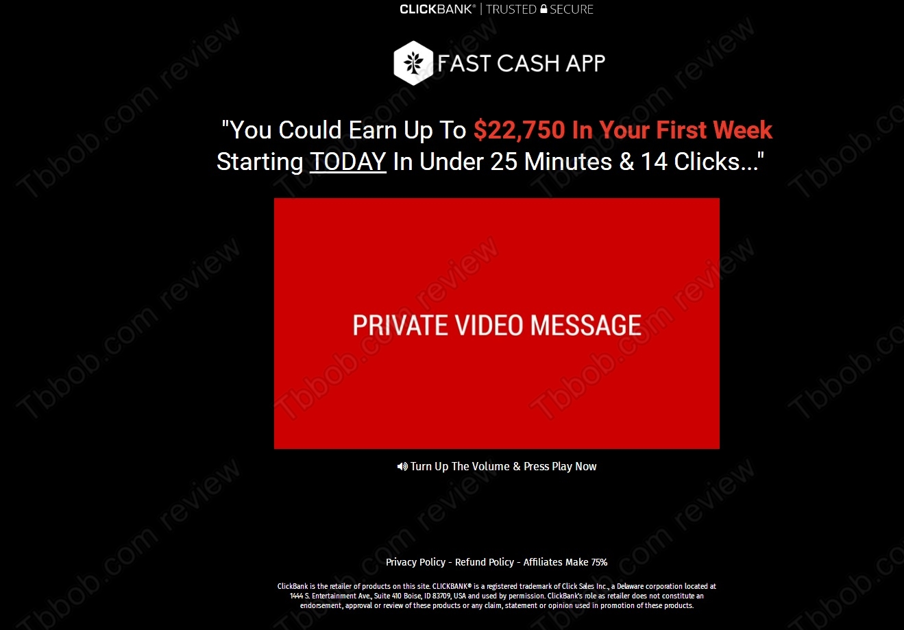 BEWARE of the Fast Cash App – review