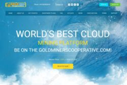 Gold Miners Cooperative website