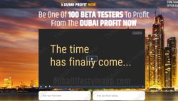 Dubai Profit Now official website