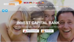 Invest Capital Bank website