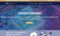 PayBox Solutions website