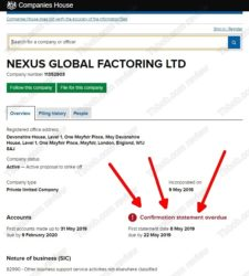 Nexus Global scam