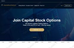Capital Stock Options broker review